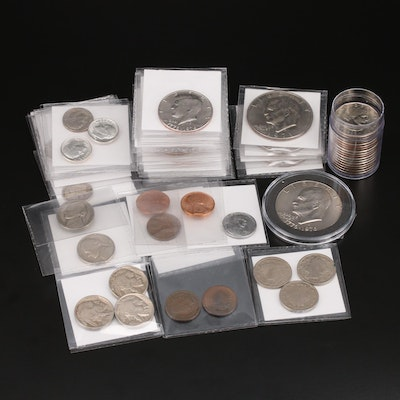 Collection of Vintage United States Coins