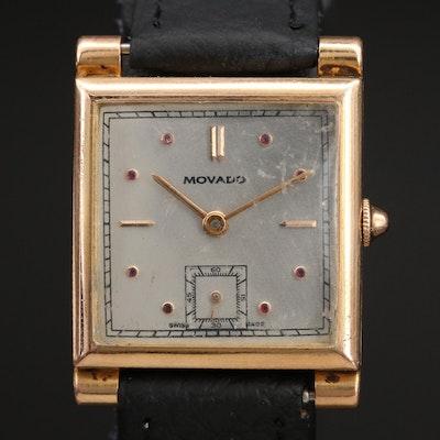 18K Vintage Movado Wristwatch
