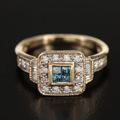 14K 0.50 CTW Diamond Ring
