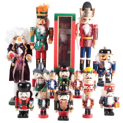 Kurt S. Adler and Other Nutcrackers and Nutcracker Ornaments
