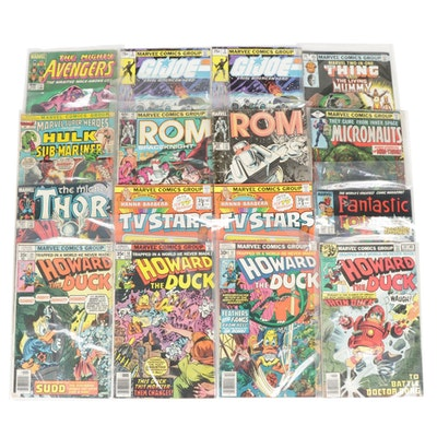 """Silver, Bronze Age """"Thor"""", """"Fantastic Four"""", """"Howard the Duck"""" Marvel Comics"""