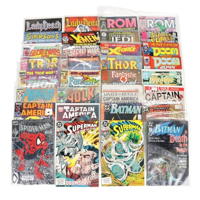 "Modern Age ""Superman"", ""Spider-Man"", ""Batman"" and Other Marvel Comics"