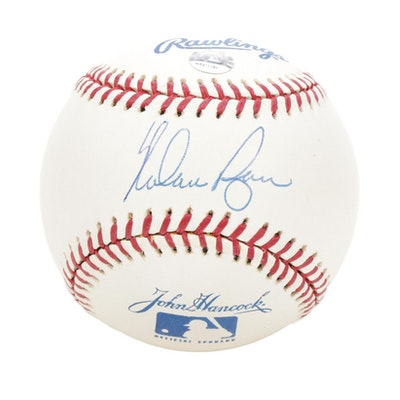 Nolan Ryan Signed Baseball, Visual Pass