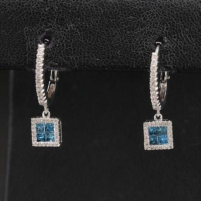 14K 1.25 CTW Diamond Earrings