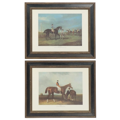 """Equine Offset Lithographs After Abraham Cooper """"Elis"""" and More"""