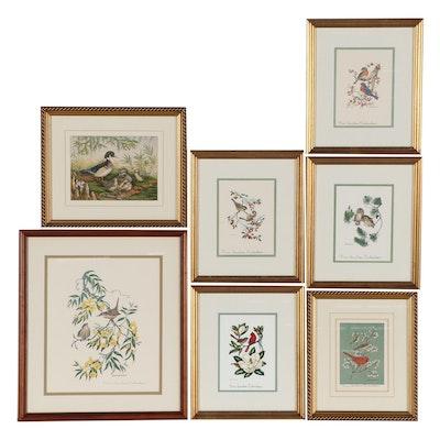 Anne Worsham Richardson Ornithological Offset Lithographs