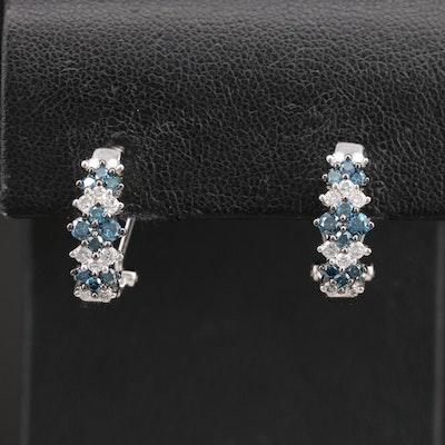 14K 1.00 CTW Diamond Earrings