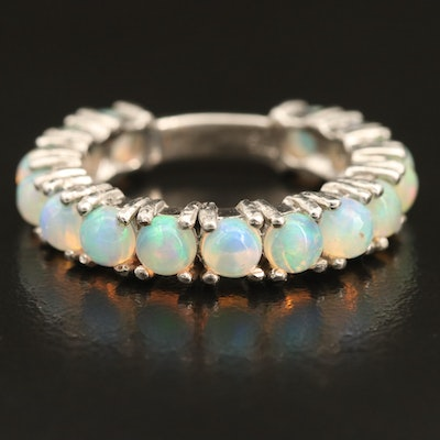 Sterling Opal Band