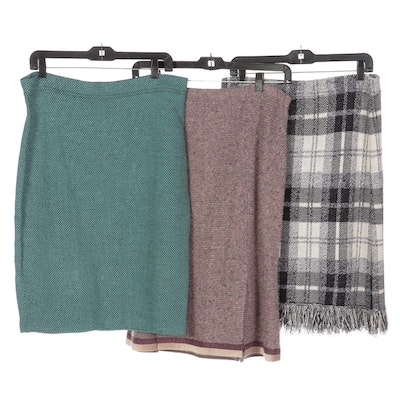 St. John for Saks Fifth Avenue and St. John Collection Knit Skirts