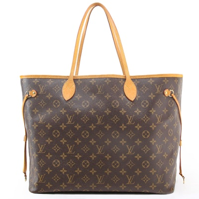 Louis Vuitton Neverfull GM in Monogram Canvas and Vachetta Leather