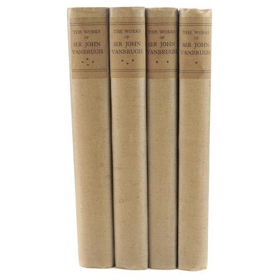 "Limited Edition ""The Works of Sir John Vanbrugh"" Four-Volume Set, 1927"