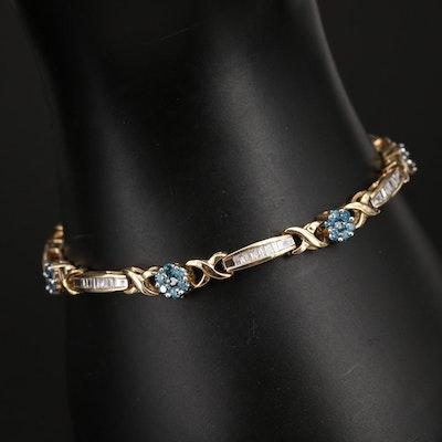 14K 2.00 CTW Diamond Bracelet