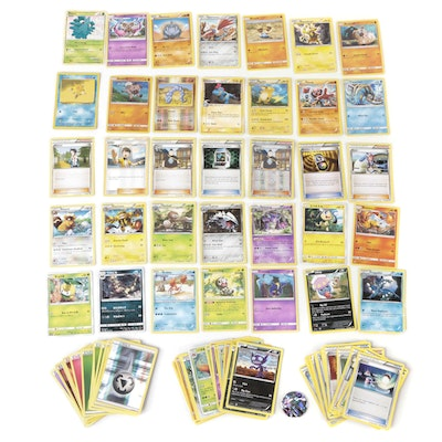 Pokémon Card Collection, Including Holo and Promo Cards, 2010s