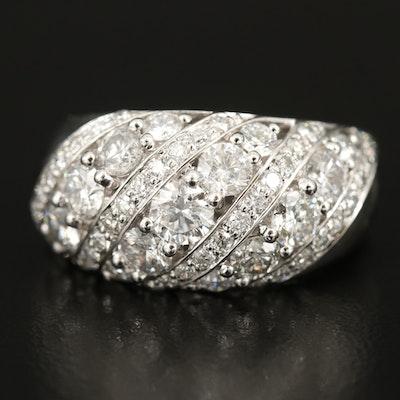 14K 3.07 CTW Diamond Ring