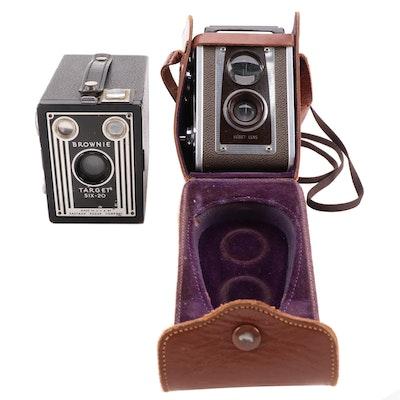 Kodak Brownie Target Six-20, Duraflex IV Cameras