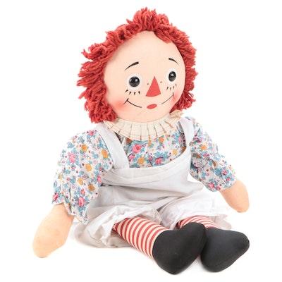 Knickerbocker Raggedy Ann Doll