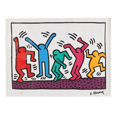 """Giclée After Keith Haring """"Untitled,"""" 1993"""