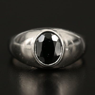 14K 2.47 CT Sapphire Ring