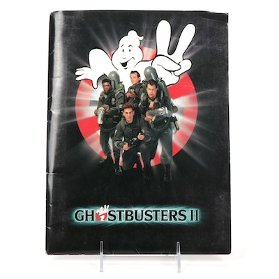 """1989 """"Ghostbusters II"""" Columbia Pictures Release Publicity and Promotion Kit"""