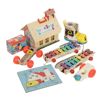 Fisher-Price and Playskool Children's Toys