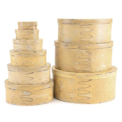 Shaker Style Nesting Boxes, Mid to Late 20th Century