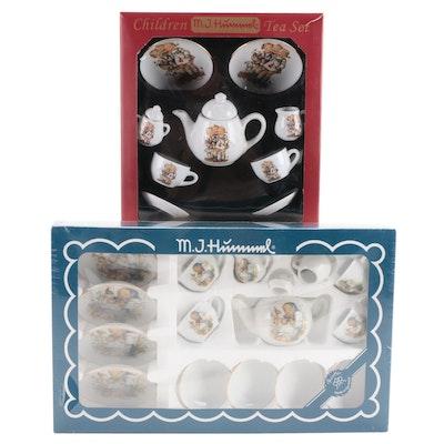 M.J. Hummel Children's Porcelain Tea Sets, Germany