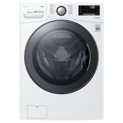LG White 4.5 Cu. Ft. Smart Wi-Fi Enabled Front Load Washer