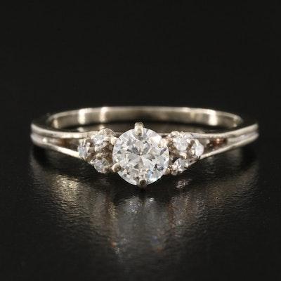 18K 0.49 CTW Diamond Ring
