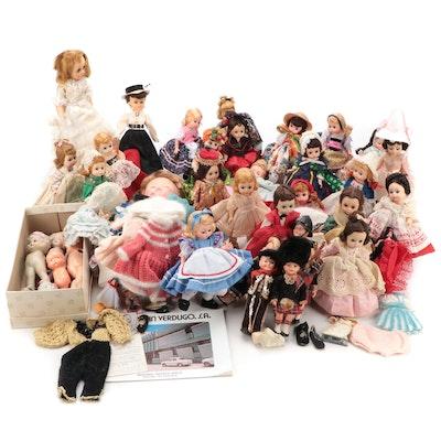 "Madame Alexander ""Irish"", ""Dutch"", ""Swiss"", ""Canada"", ""Goldilocks"", Other Dolls"