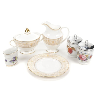 """Royal Doulton """"Sovereign"""" and Other Bone China Table Accessories"""