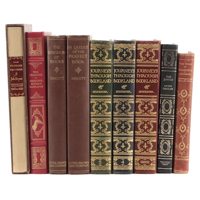 """Signed """"In Quest of the Perfect Book"""" by William Dana Orcutt and More Classics"""
