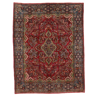 7'9 x 10'2 Hand-Knotted Persian Mehriban Area Rug