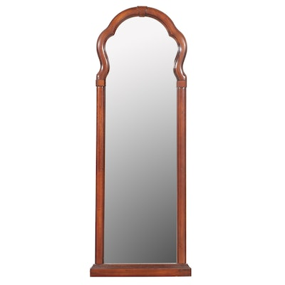 Butler Specialty Co. Queen Anne Style Mahogany Mirror, Late 20th Century