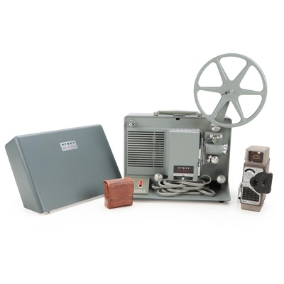Argus M500 8mm Movie Projector, Bell & Howell 8mm Film Camera, and More