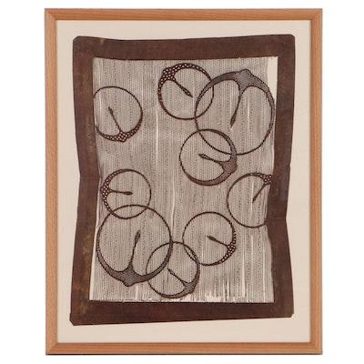 Lucinda Chapman Cut Paper Composition