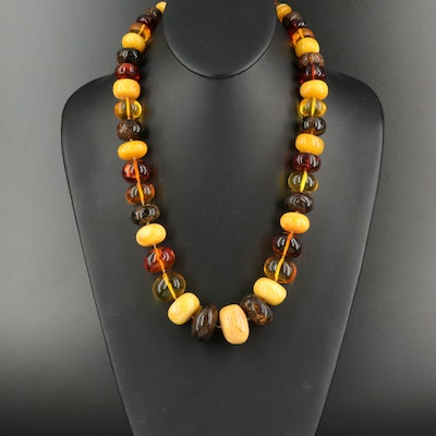 Graduated Amber Necklace