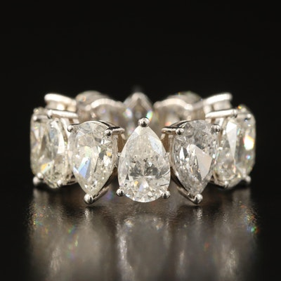 18K 12.04 CTW Diamond Eternity Band