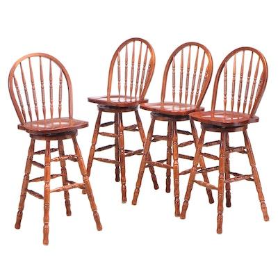 Four Winner's Only Inc. Windsor Swivel-Seat Barstools