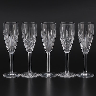 """Waterford Crystal """"Carina"""" and Other Champagne Flutes"""