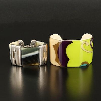 Bracelet and Cuff Including Frank & Kahn and Clara Studio