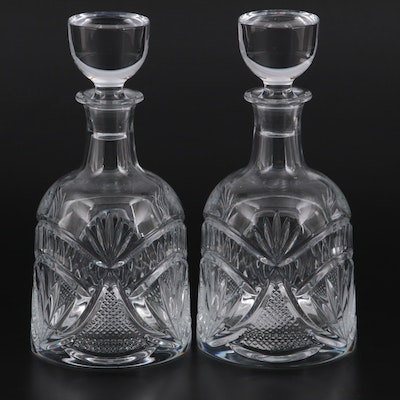 """Waterford Crystal """"Seahorse Nouveau"""" Decanters"""