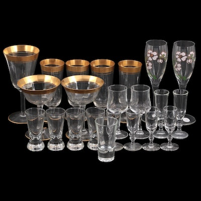 Tiffin-Franciscan Other Stemware and Shot Glasses