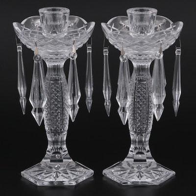 "Waterford Crystal ""Tara"" Candle Holders"