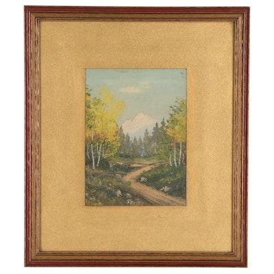 Rural Landscape Oil Painting