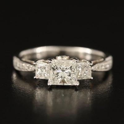 14K 1.26 CTW Diamond Ring