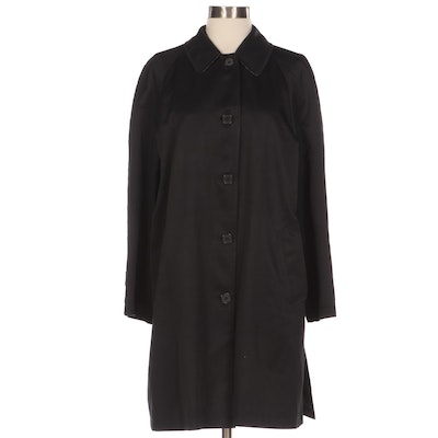 """Burberry Morgan Raincoat with """"House Check"""" Lining"""