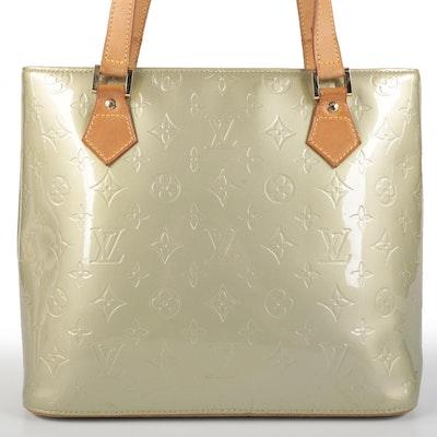 Louis Vuitton Houston Tote Bag in Monogram Vernis and Vachetta Leather