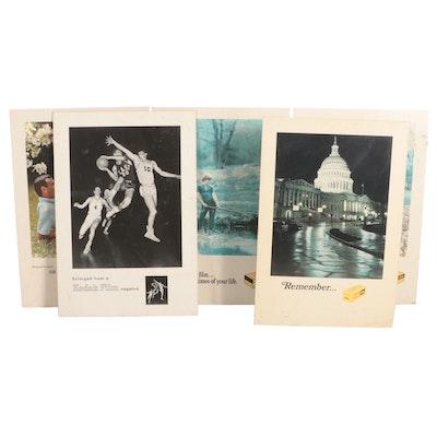 Kodak Advertising Easel Signs, Late 20th Century