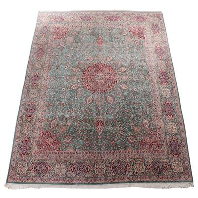 9'9 x 13'3 Hand-Knotted Turkish Hereke Room Size Rug
