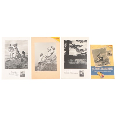 Kodak Advertising Easel Signs, Mid to Late 20th Century